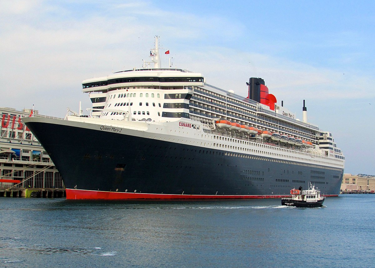 Queen Mary Ship port